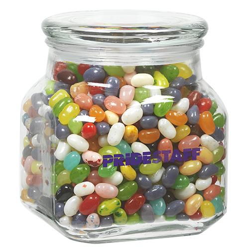 Contemporary Glass Jars Mid Nite Snax