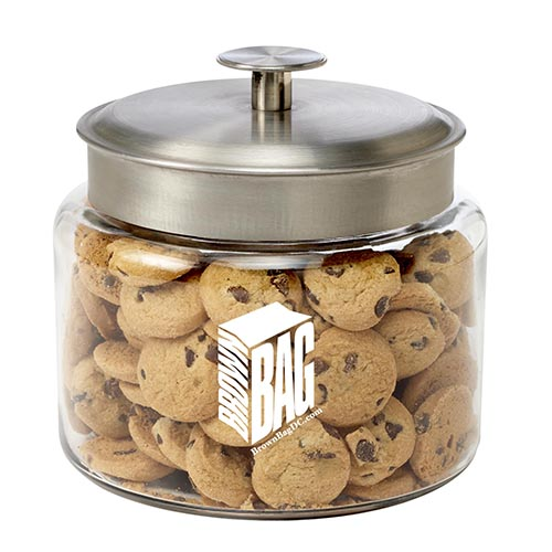 Glass Cookie Jars Mid Nite Snax